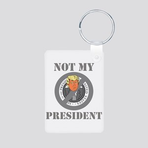 Not My President Seal Keychains