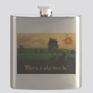 What Is, Is What Must Be Flask