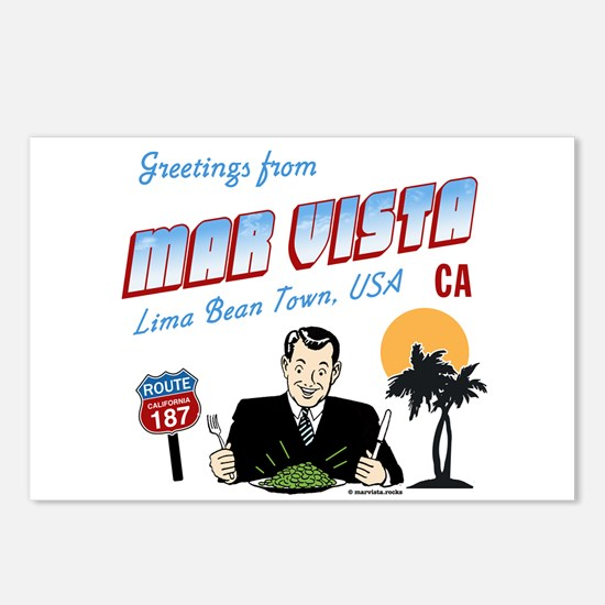 Greetings from Mar Vista Postcards (Package of 8)