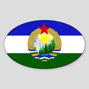 Flag of Socialist Cascadia Sticker