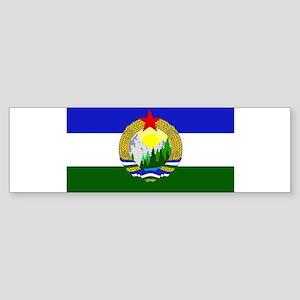 Flag of Socialist Cascadia Bumper Sticker
