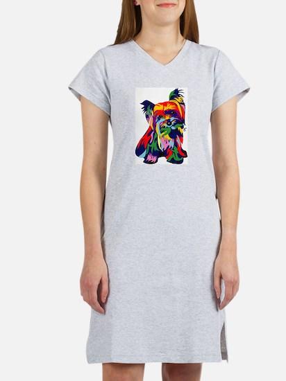 Bright rainbow yorkie T-Shirt