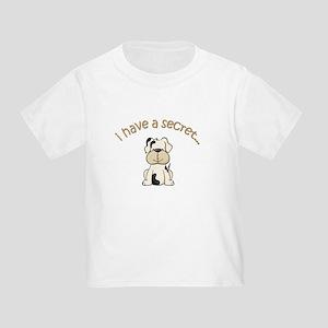 big brother puppy secret Toddler T-Shirt