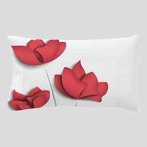 Paper Flowers Pillow Case