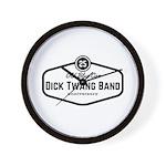 Dick Twang Band 25 Anniversary Wall Clock