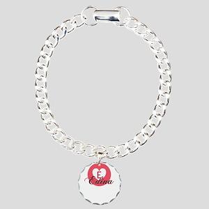 edina Charm Bracelet, One Charm