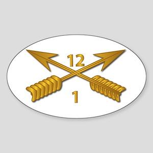 USSOCOM Branch wo Txt Sticker (Oval)