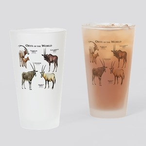 Oryx of the World Drinking Glass