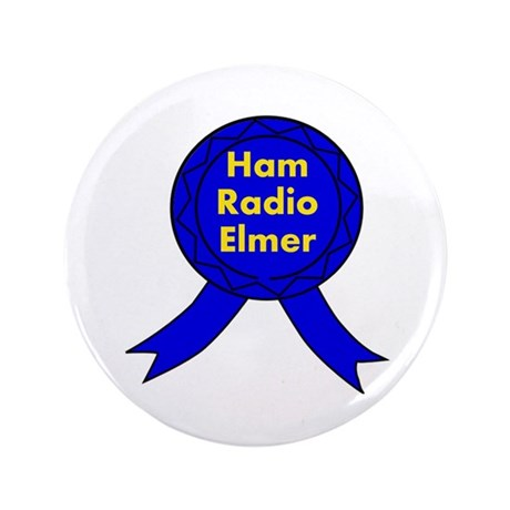 "Ham Radio Elmer 3.5"" Button"