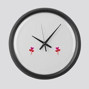 Have No Fear Nana Is Here Large Wall Clock