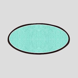 Mint Green Print Patch