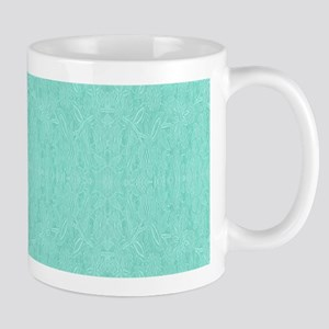 Mint Green Print Mugs