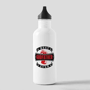 Best Godfather Ever Water Bottle
