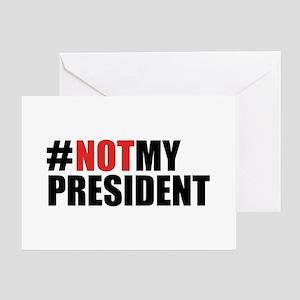 #NotMyPresident Greeting Card