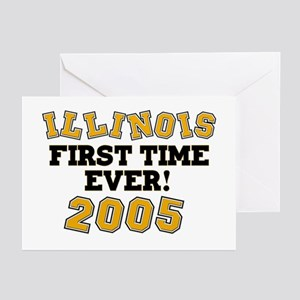 Illinois First Time Ever! 2005 Greeting Cards (Pac