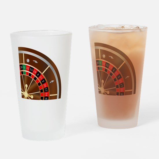 Cool Wheel of fortune Drinking Glass