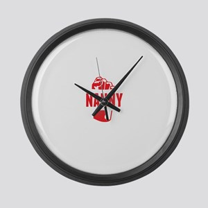 Best Nanny Ever Large Wall Clock