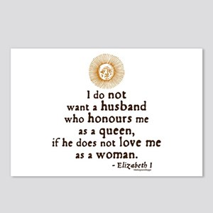Queen Elizabeth I Marriage Quote Postcards (Packag