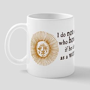 Queen Elizabeth I Marriage Quote Mug