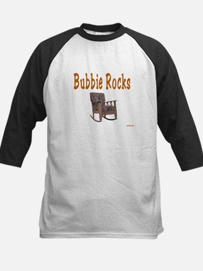 BUBBIE ROCKS YIDDISH Kids Baseball Jersey