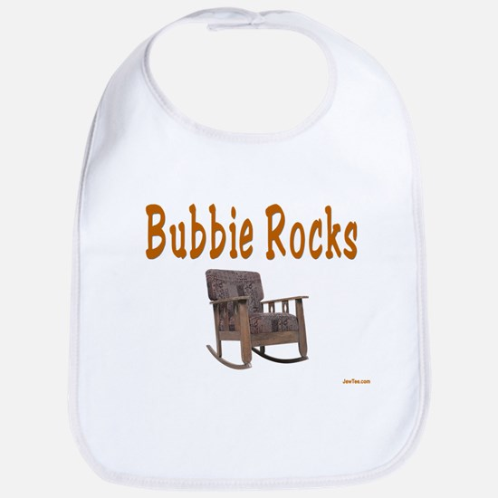BUBBIE ROCKS YIDDISH Bib