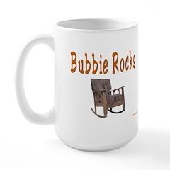 BUBBIE ROCKS YIDDISH Large Mug