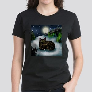 TORTOISESHELL CAT WINTER T-Shirt