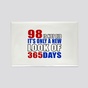 98 is not old it is only a new lo Rectangle Magnet