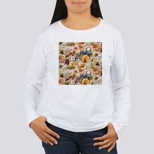Fancy Seashell Long Sleeve T-Shirt
