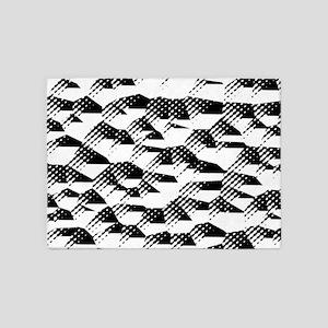 Abstract 121116(02) 5'x7'Area Rug