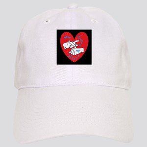 ASL You Touch My Heart Cap