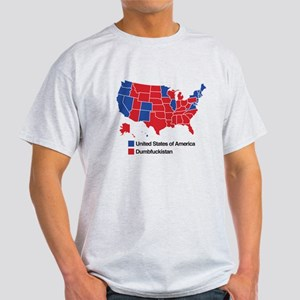 Map of Dumbfuckistan T-Shirt