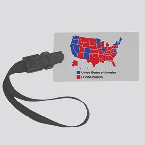 Map of Dumbfuckistan Luggage Tag