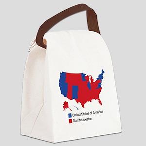 Dumbfuckistan Canvas Lunch Bag