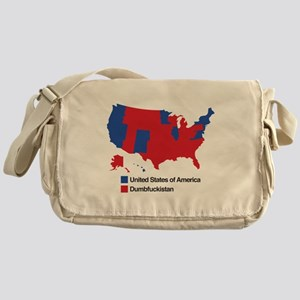Dumbfuckistan Messenger Bag