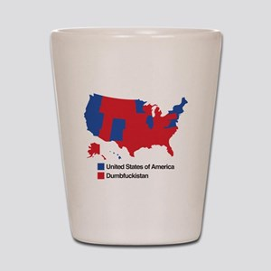 Dumbfuckistan Shot Glass