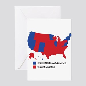 Dumbfuckistan Greeting Card