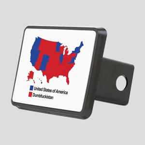 Dumbfuckistan Rectangular Hitch Cover