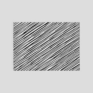 Abstract 151116(01) 5'x7'Area Rug