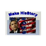 Make HisStory Rectangle Magnet