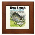 Top Water Trout Framed Tile