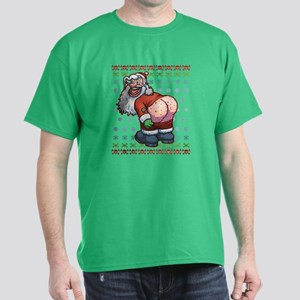 Ugly Santa Moon Dark T-Shirt