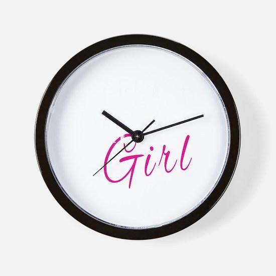 Cool Pastor Wall Clock