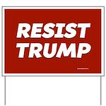 Resist Trump Yard Sign