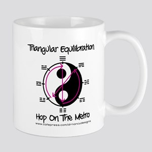 Triangular Equilibration Mug