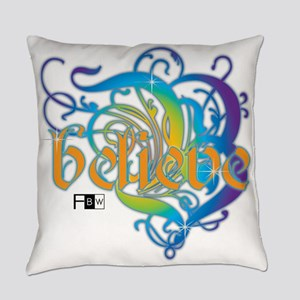 Believe (Color Series) Everyday Pillow