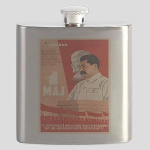 Vintage poster - Josef Stalin Flask