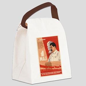 Vintage poster - Josef Stalin Canvas Lunch Bag