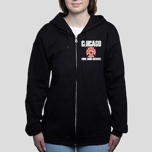 Chicago Fire Department Women S Hoodies Sweatshirts Cafepress