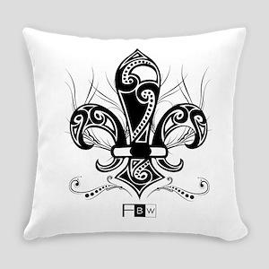Fleur De Lis Everyday Pillow